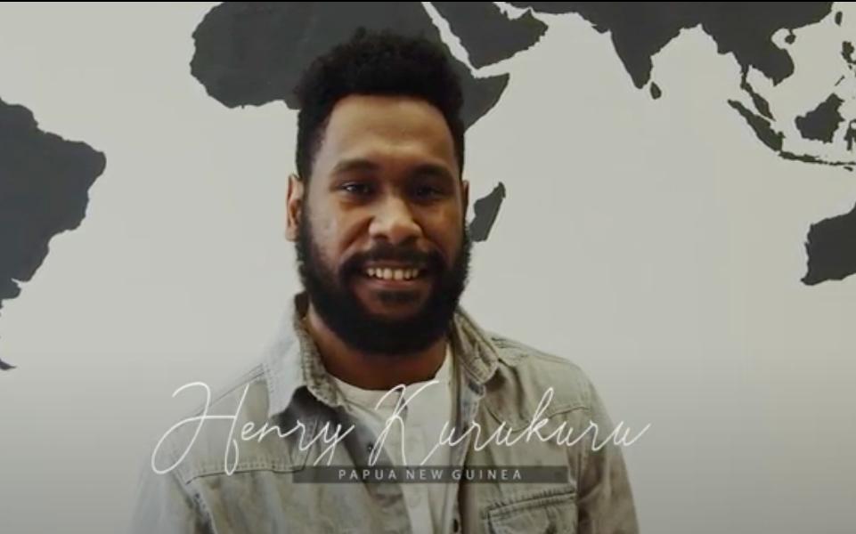 International Alumni Stories | Henry Karukuru | Papua New Guinea