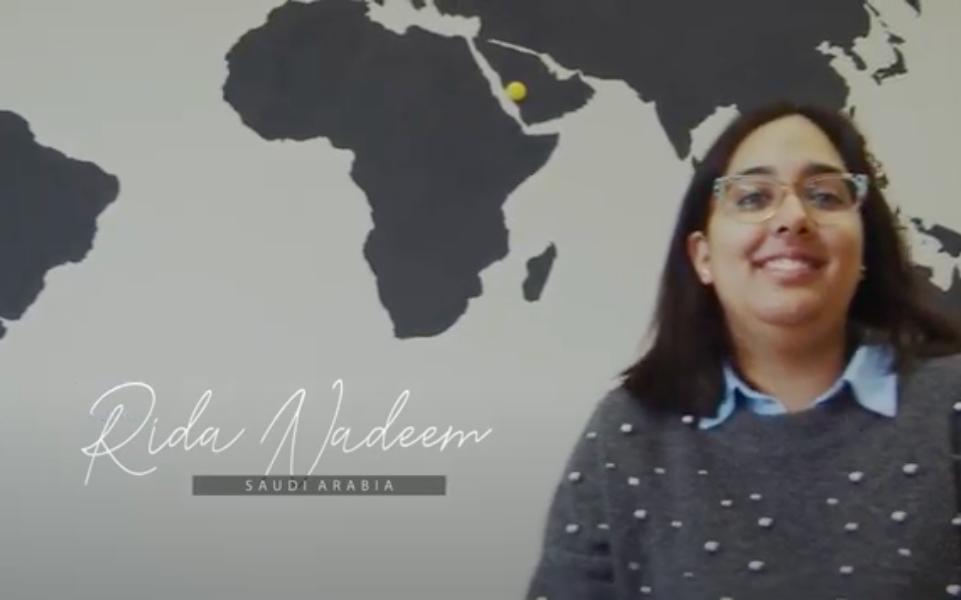International Alumni Stories | Rida Nadeem | Saudi Arabia